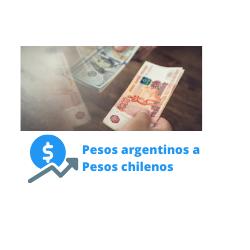 pesos argentinos a pesos chilenos