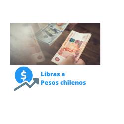 libras a pesos chilenos