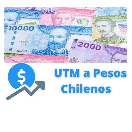 UTM a pesos chilenos