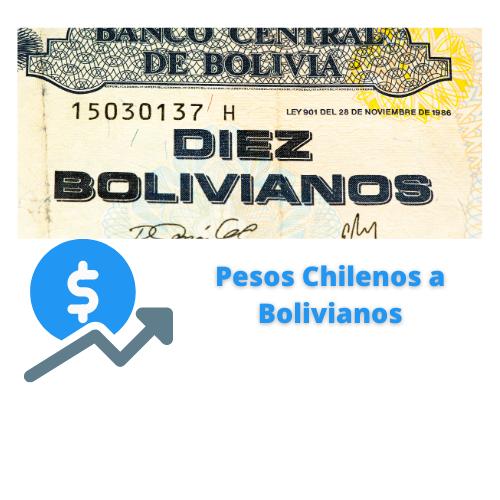 pesos chilenos a bolivianos