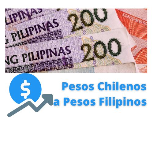 pesos chilenos a pesos filipinos