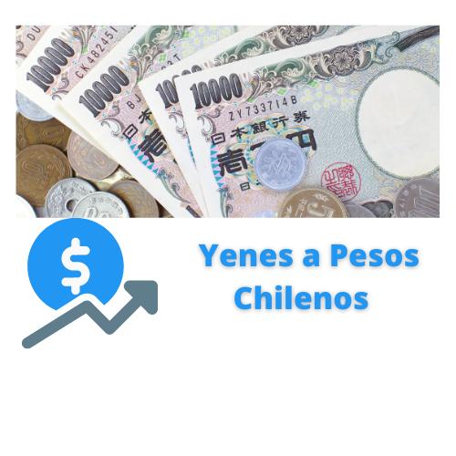 yenes a pesos chilenos