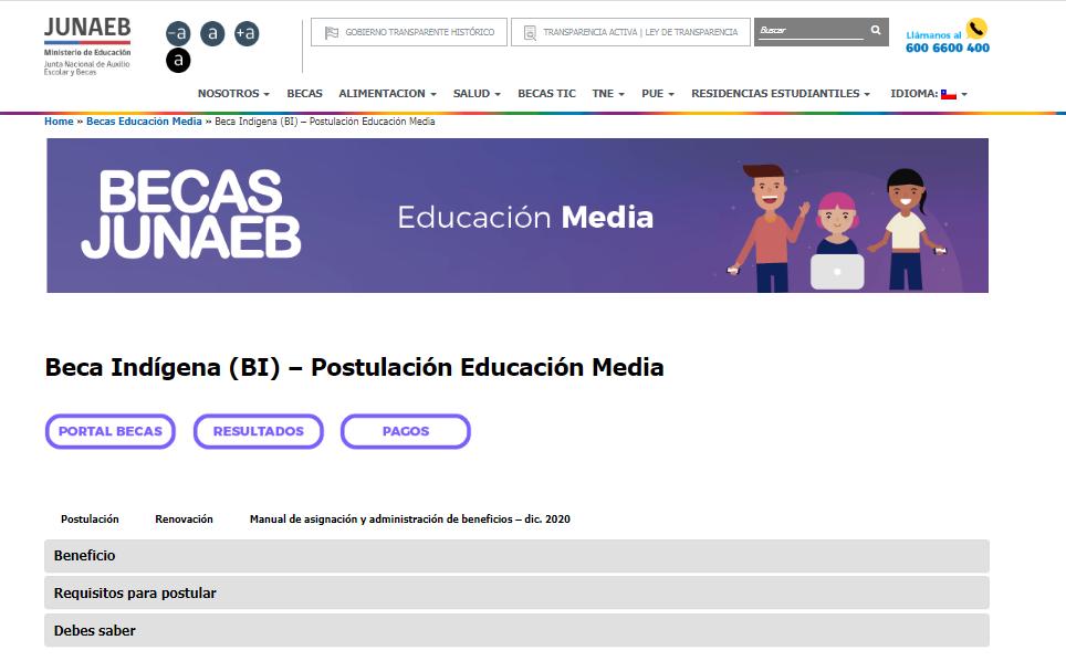 mejores becas para estudiar en Chile